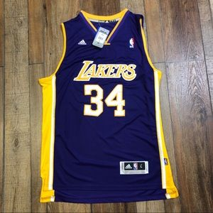 NWT Shaquille SHAQ O'Neal LA Lakers Jersey NEW